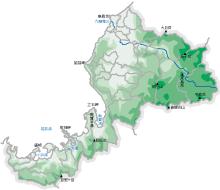 上村商店のお引取り地域MAP