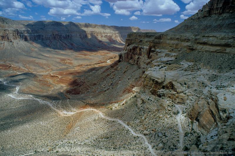 USA, noch 4 Stunden laufen bis zum Havasupai Indian Reservation
