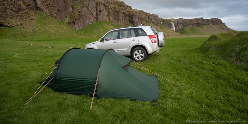 Island Camping Seljalandsfoss (Iceland Seljalandsfoss)