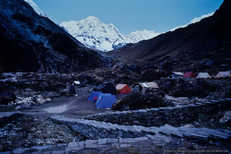 Nepal 1999, Auf dem Weg zum ABC (Anapurna Base Camp)