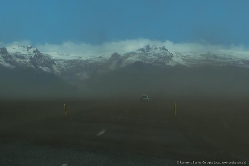 Island, Aschewolke des Grimsvötn
