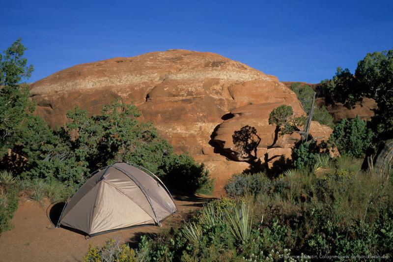 USA, Camping im Juni im Canyonlands NP