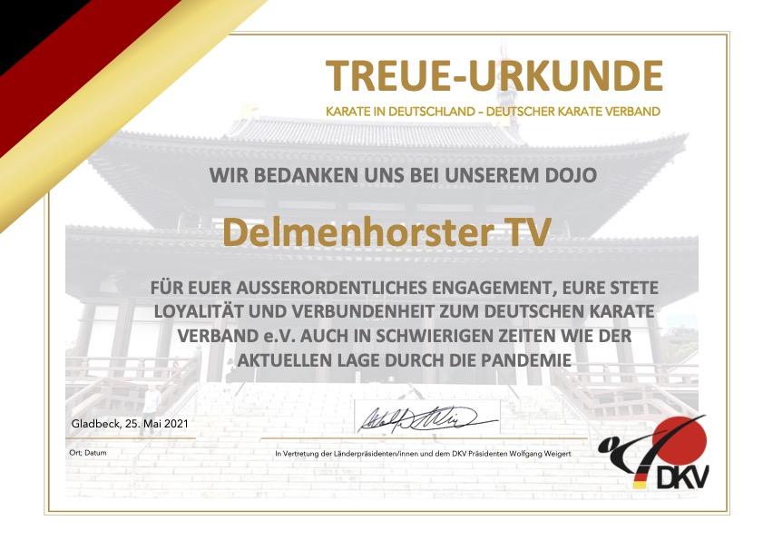 Anerkennung vom DKV
