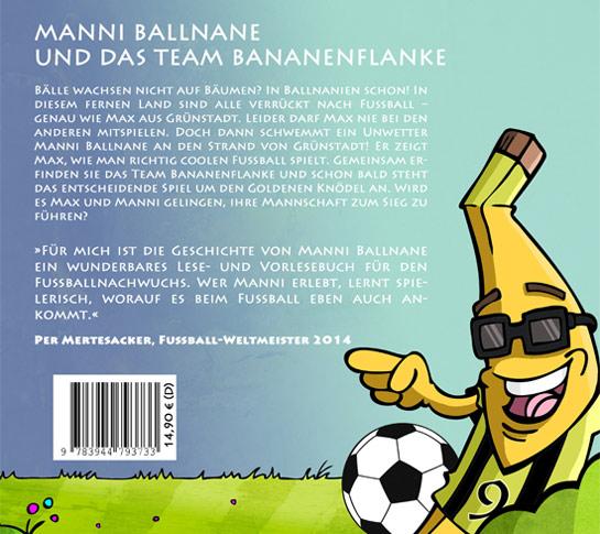 Buchumschlag Manni Ballnane