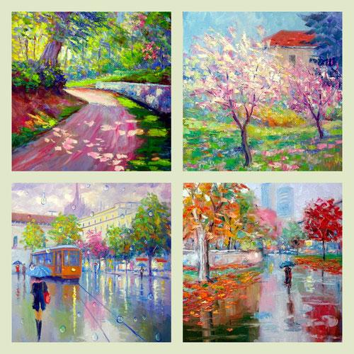 paesaggi impressionisti