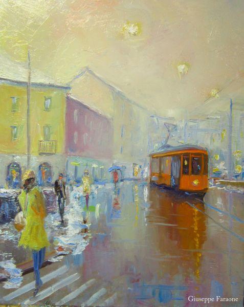 quadri tram milano dipinti faraone giuseppe