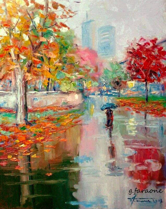 Modern impressionism Giuseppe Faraone