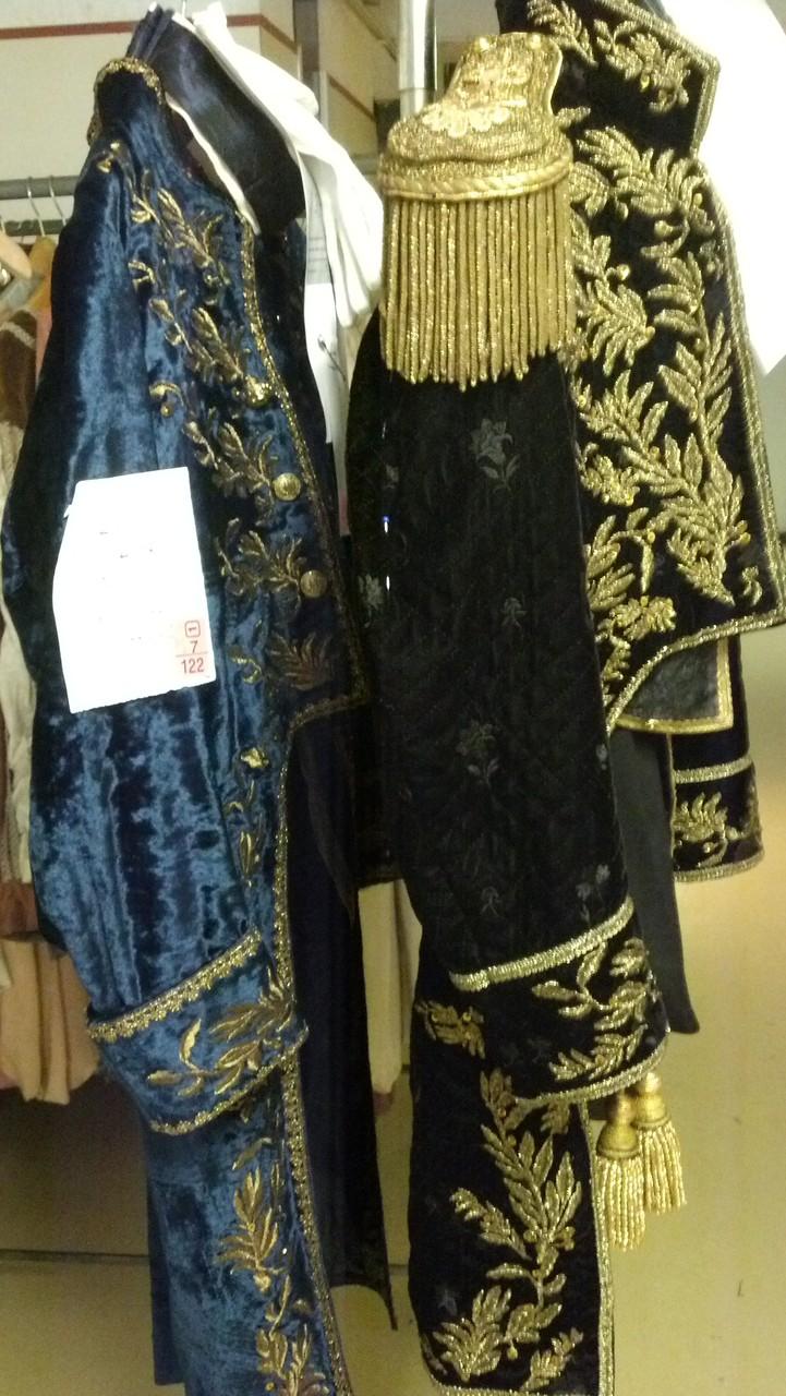 I costumi realizzati dalla Casa d'Arte Fiore di Milano.