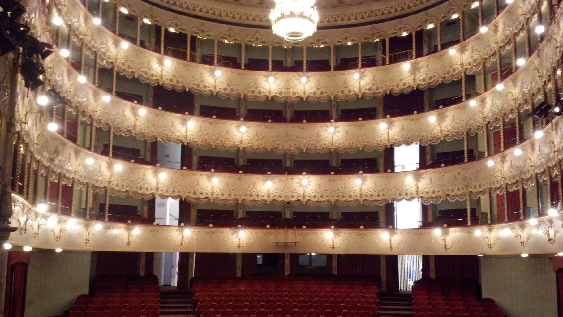 La sala del Teatro Goldoni di Venezia.