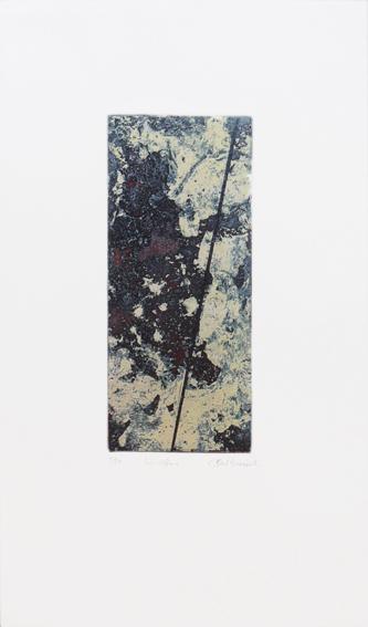 Caroline Saltzwedel: Ins Offene, 2012, Radierung. Jahresgabe 2012