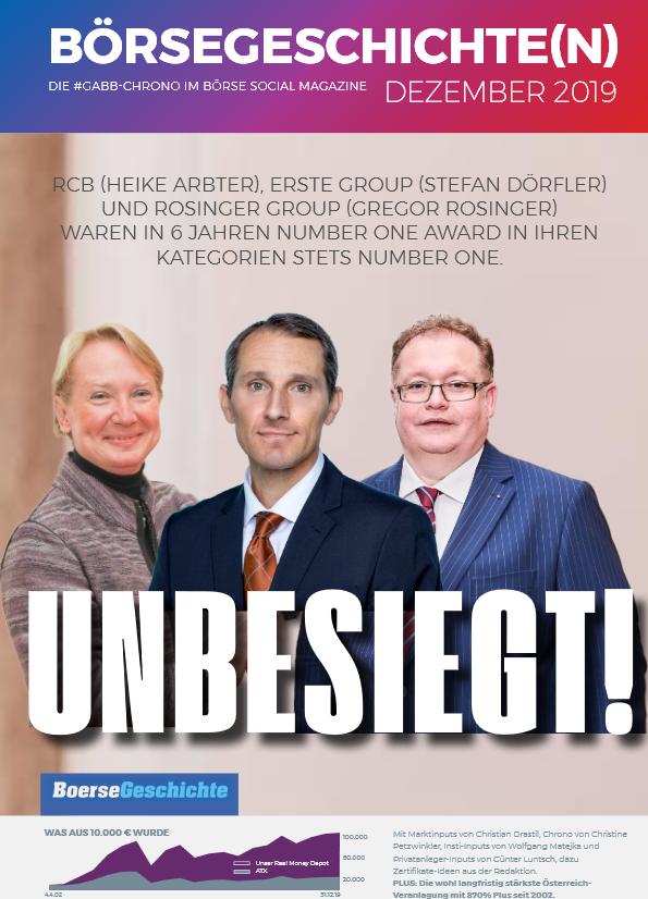 UNBESIEGT ! Rosinger Group,  Gregor Rosinger