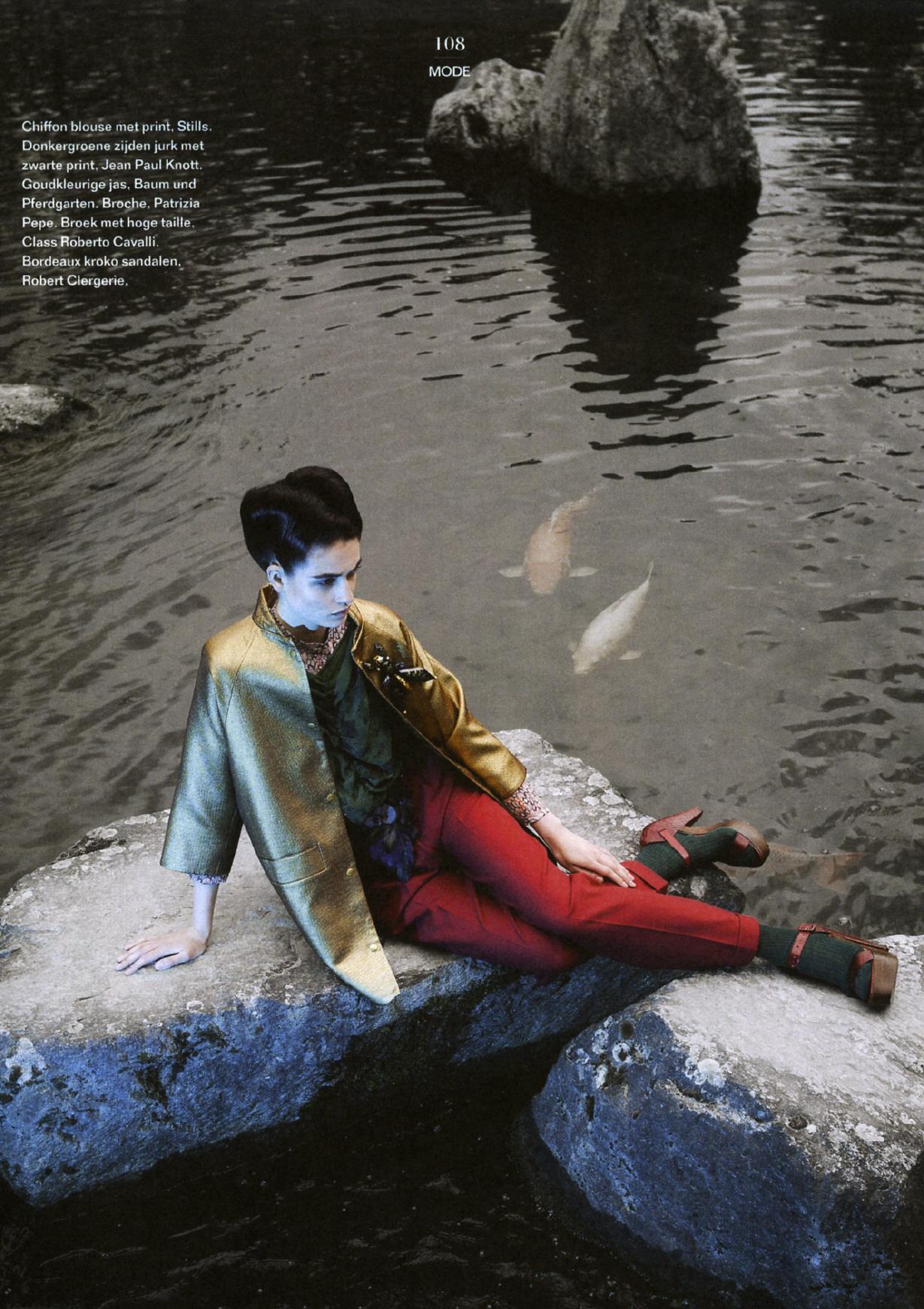 'Weekend Knack' ©Dirk Alexander Fashion Editor Ilja Deweerdt