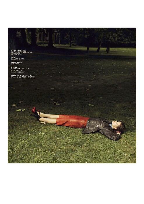 'l'officiel' ©Dirk Lambrechts Fashion Editor Lotta Volkova