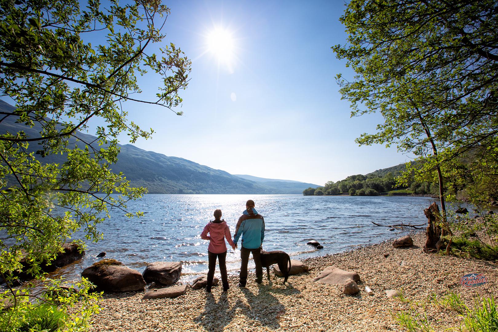 Loch Lomond_Schottland_Wohnmobil_Hund_Campen