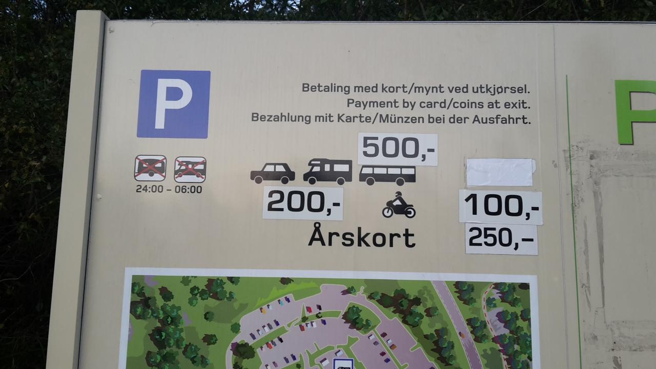 Preikestolen_Parkplatz_Kosten_Wohnmobil_Norwegen