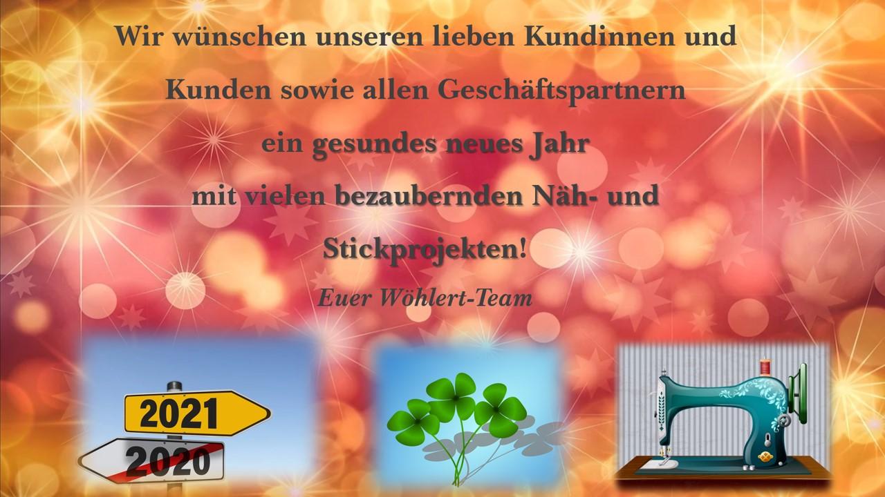 Wir wünschen euch ein GESUNDES neues Jahr!!!