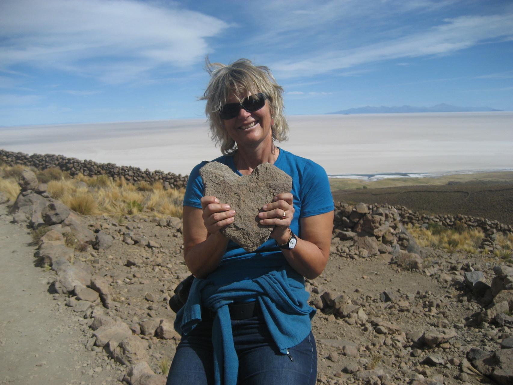Salzsee Uyuni, Bolivien