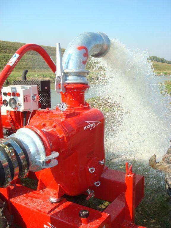 Pumpen für den Hochwassereinsatz