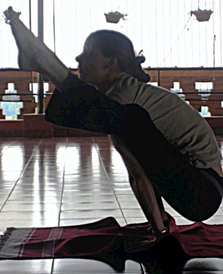 Caroline Kleb Loic's Ashtanga teacher