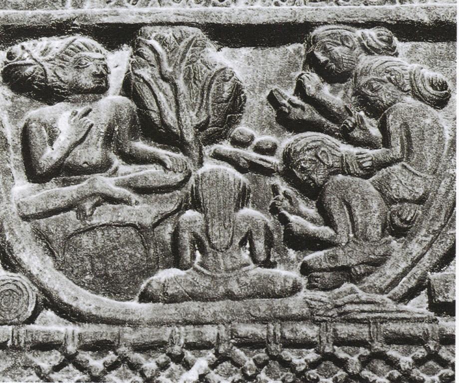 Yogi & Guru fresque ancienne