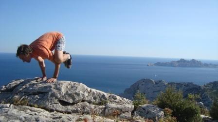 Marche et Yoga Calanques de Marseille