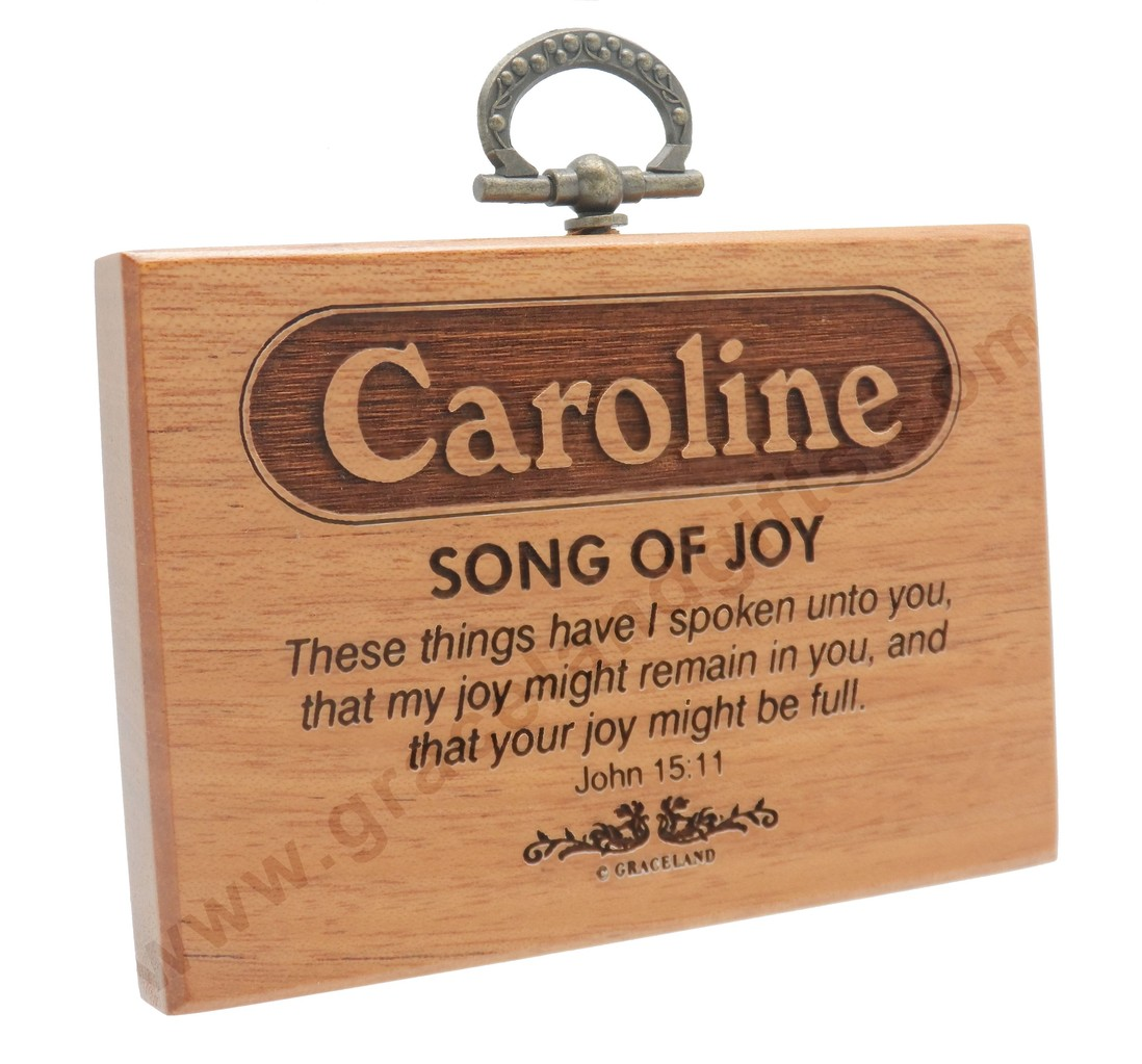 Plaques with name meanings - Mini Name Plaques Customized