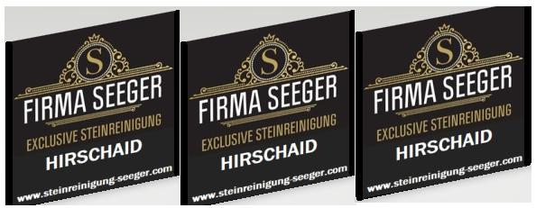 EXCLUSIVE STEINREINIGUNG-FIRMA SEEGER