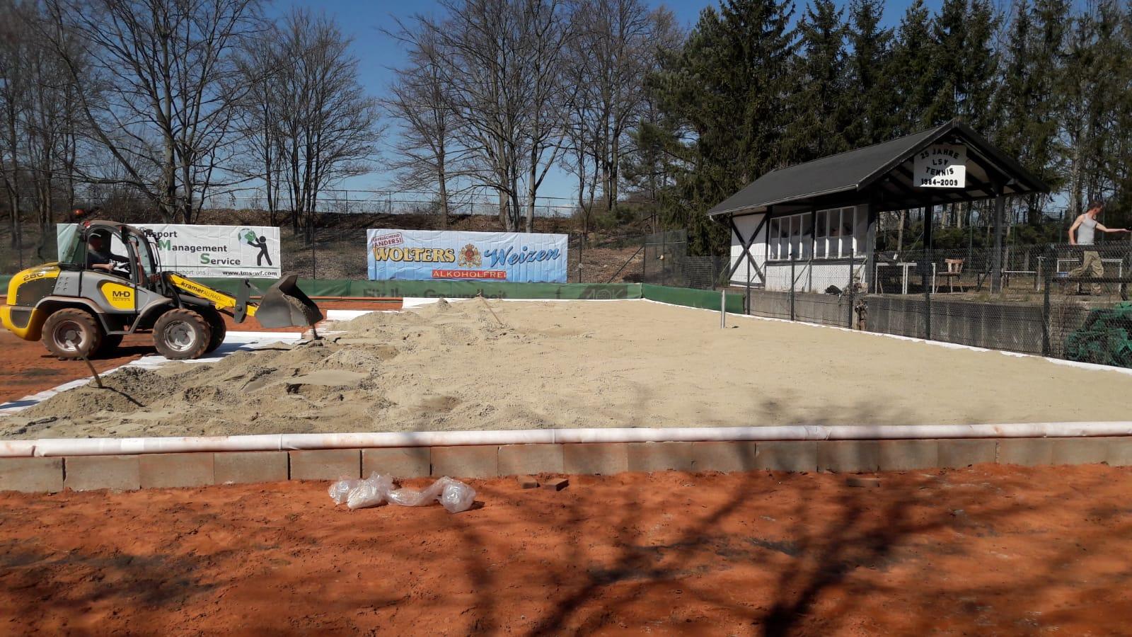 Tag 2 der Sandaktion