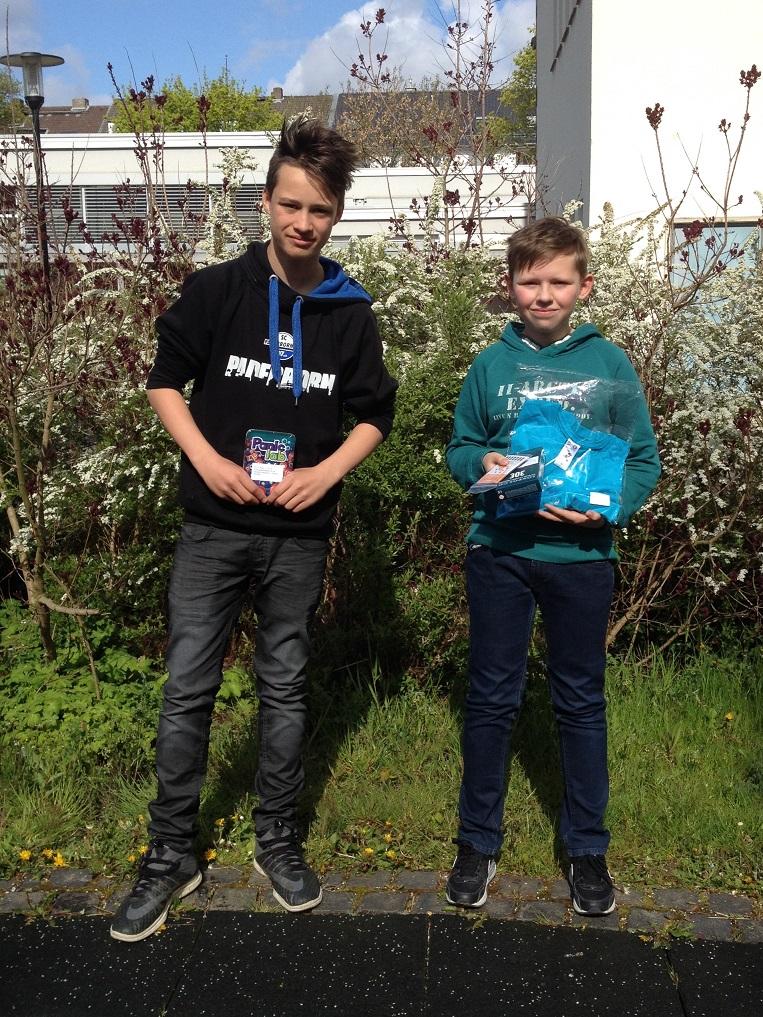 Ludwig Deichmann (8e), Paul Mehler (6d)