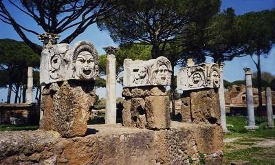 Ostia antica, Quelle: tokamuwi /pixelio.de