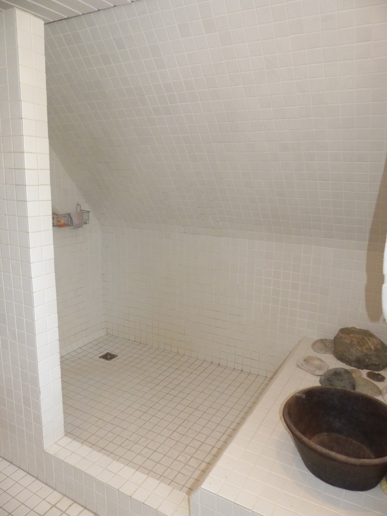 große Dusche