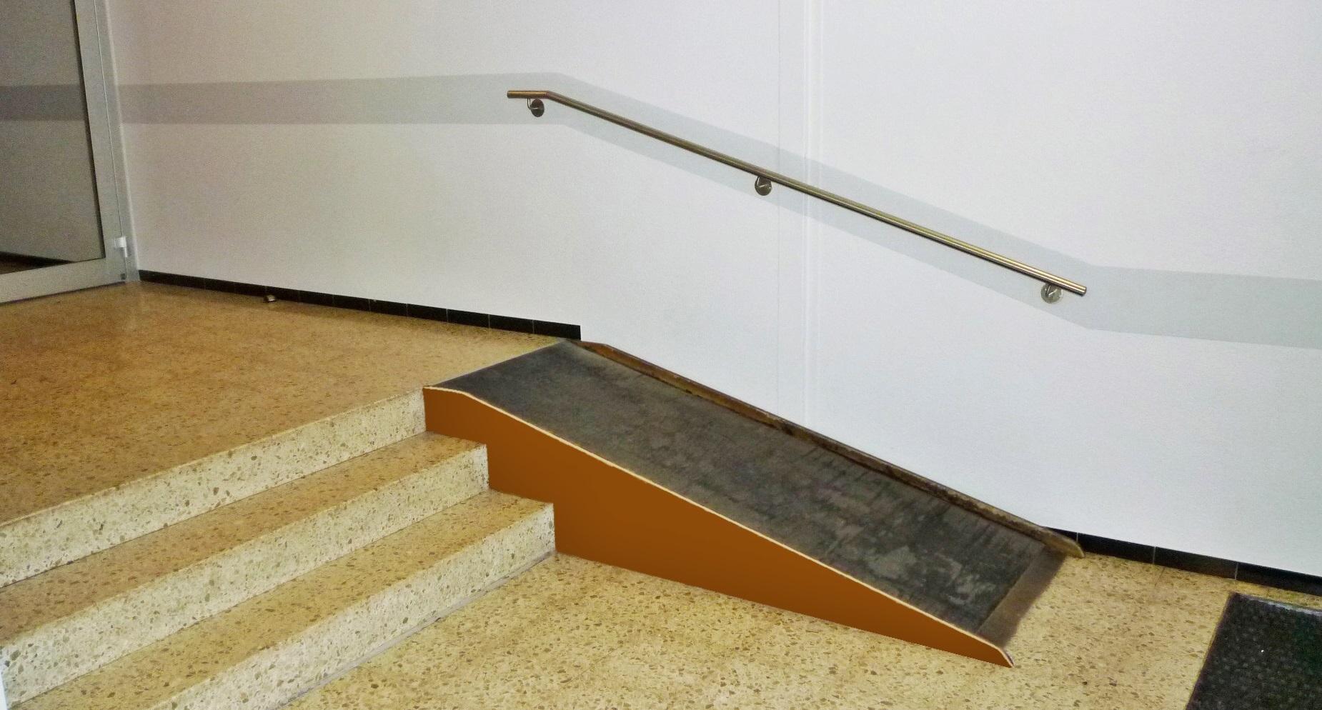 barrierefreies Foyer