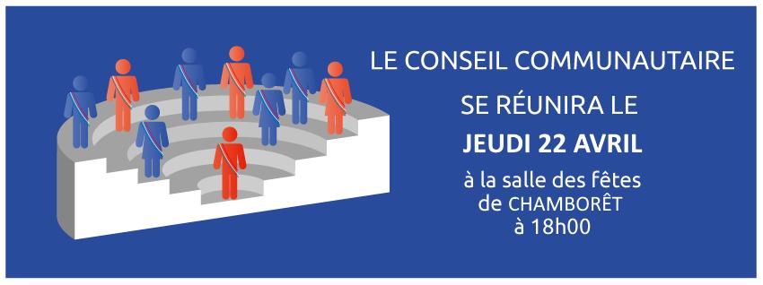 Conseil Communautaire du 22 avril 2021