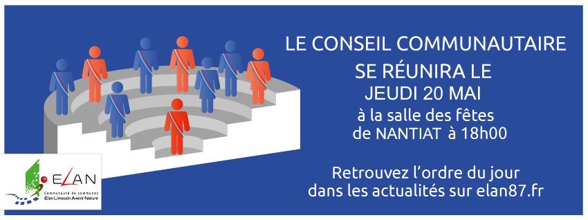 Conseil Communautaire du 20 mai 2021