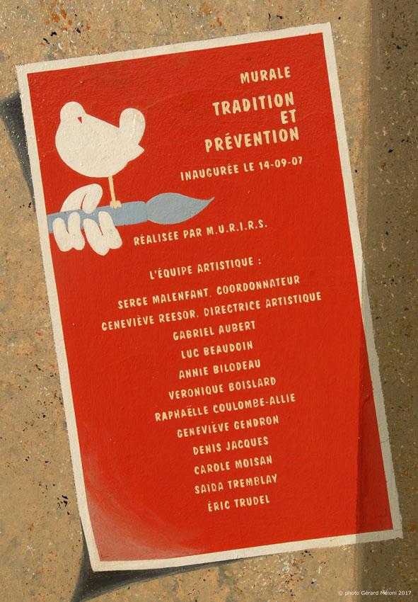 Tradition et Prévention, 2007