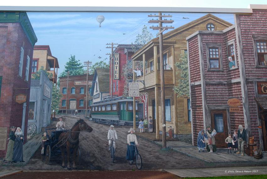 Le progrès de l'Est, 2004. Le tramway fonctionna de 1897 à 1921.