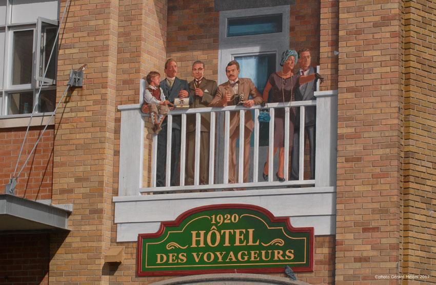 L'hôtel des Voyageurs, 2009.