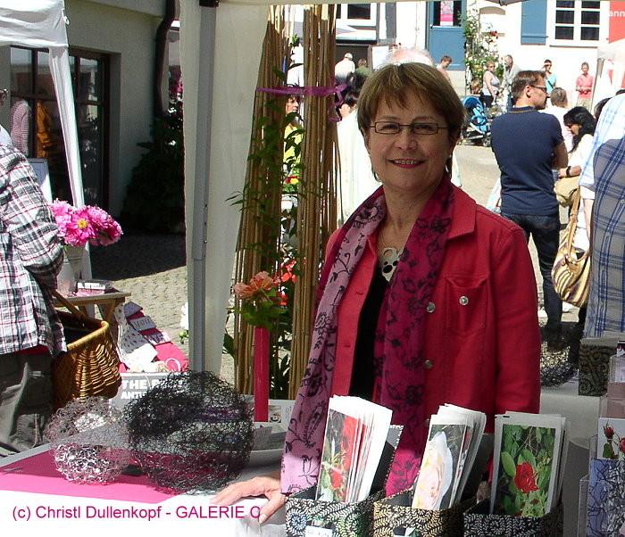 ... Stand beim Rosenfest 2014