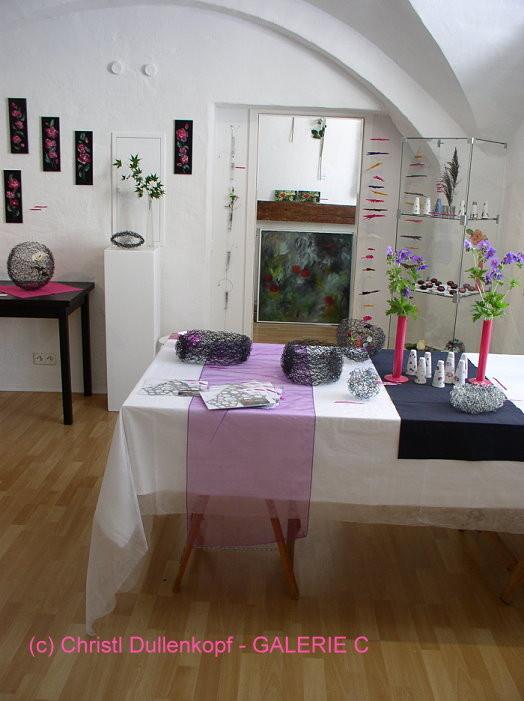 ... Rosenfest 2014 / Ausstellung in der Galerie C