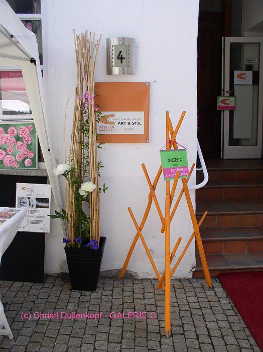 ... Rosenfest 2014 / Eingang zur Galerie C