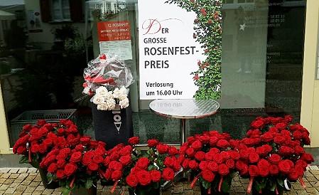 1. Rosenfestpreis / gestaltet von Ch. Dullenkopf