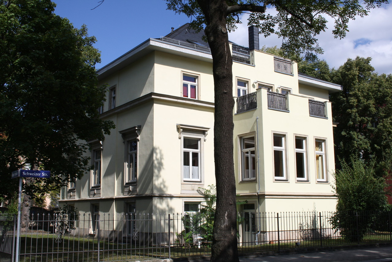 Sanierte Stadtvilla in Dresden (Denkmalschutz)