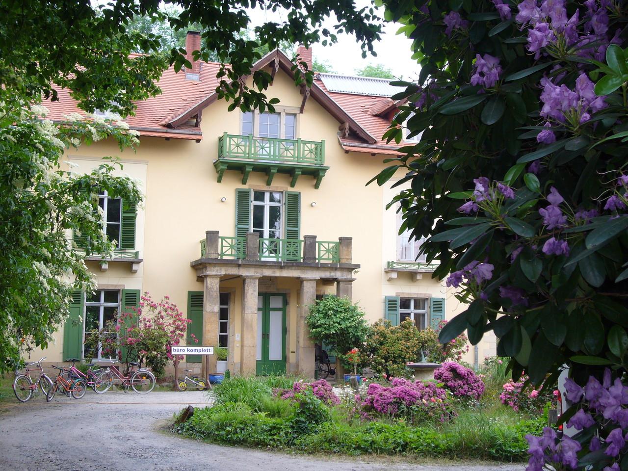 Sanierte Villa des Fürsten Putjatin (Dresden)