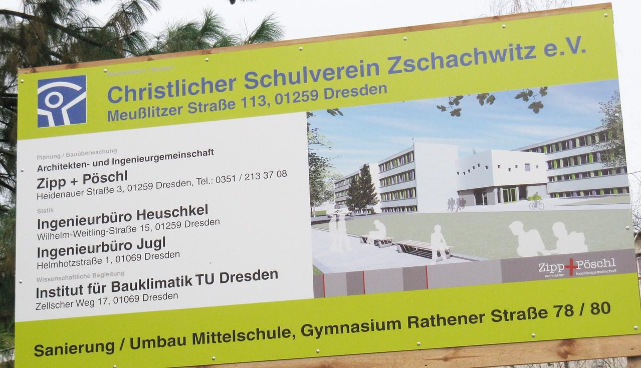 Umbau eines Schulgebäudes (Dresden)