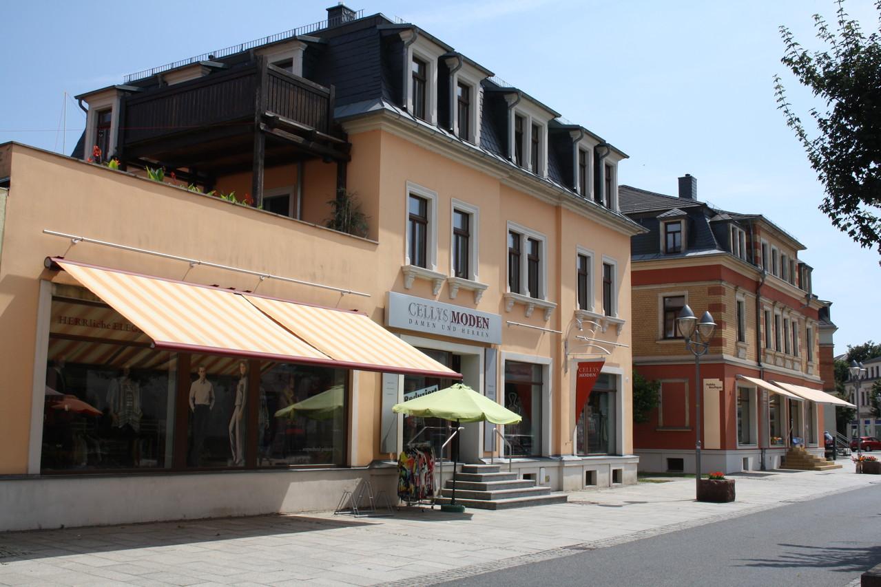 Saniertes Gebäudeensemble in Heidenau