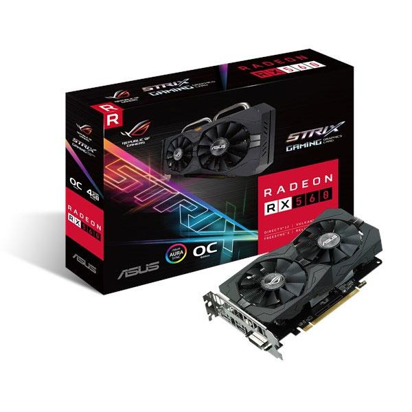 ASUS ROG STRIX AMD Radeon RX 560 O4G Gaming