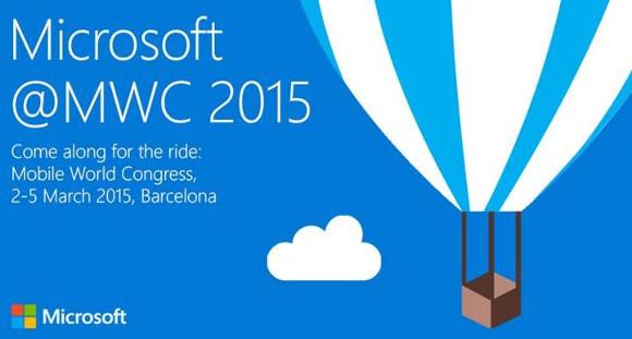 Microsoft au MWC 2015