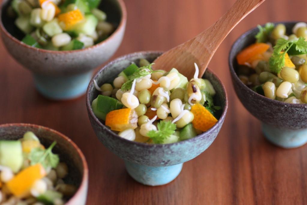 緑豆サラダ