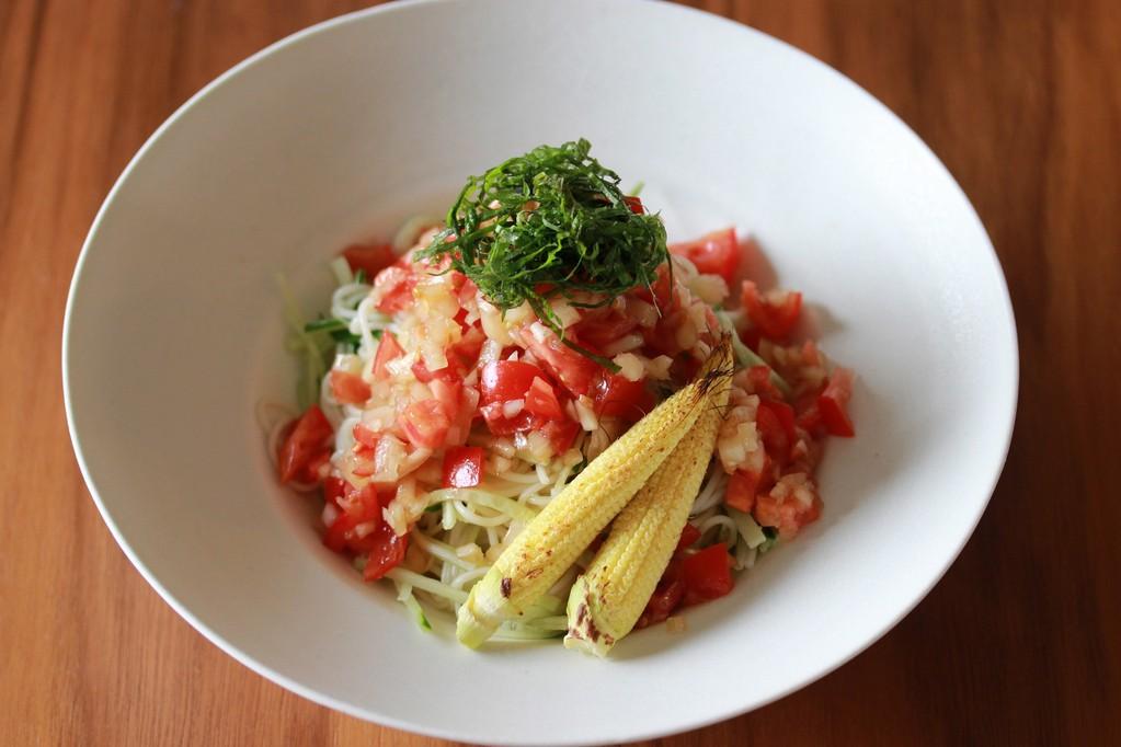 蔬菜涼麵 野菜の冷麺