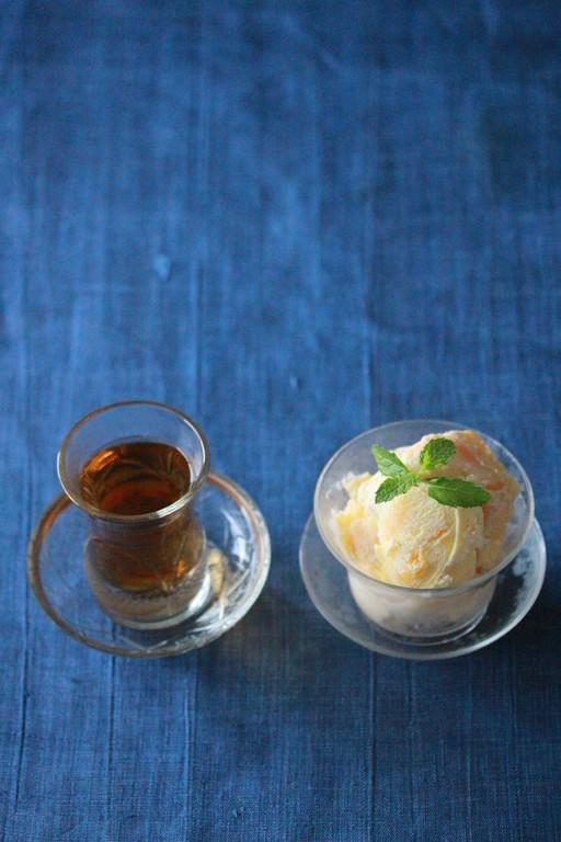 芒果木瓜牛奶氷×木柵正欉鐵音